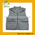 Poly Cotton Multi-pocket photographer vest