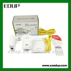 EDUP EP-PLC5506 200Mbps Starterkit PowerLine Network Electric Power Adapter Link Ethernet Homeplug powerline adapter