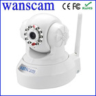 New Wanscam H.264 Support 16 G SD Card Wifi Two Way Audio Network P2P IP PTZ Wireless Camera