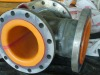 rubber lined pipe adapting to wide range of temperature