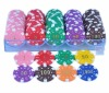 100pcs Numbered Poker Chips Set