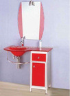 bathroom glass basin