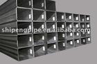 Q195-Q345 Galvanized square steel pipes