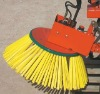 Snow plow brush making