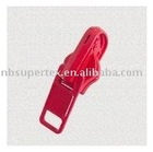 #8 Auto-lock slider with single reversible puller