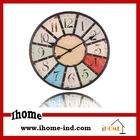 24 inch mdf round shape wall clock
