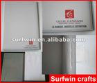 White PVC File Folder