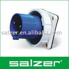 industrial plug, AJ-633 or AJ-643, 3Pole, 2P+E, 63A or 125A, 220-240V~