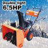 Snow blower 6.5HP (double light + E-start)
