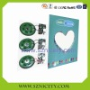 Push sound chip for greeting card