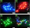 MINKI red and green led christmas lights decoration