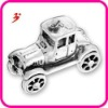 diy alloy antique silver car charm pendant (186553)