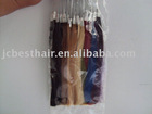 human hair color ring/colour chart
