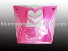 New clear pvc pouches for cosmetics