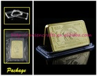 1 OUNCE 24k GOLD BUFFALO 100 MILLS Bullion Bar