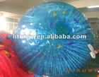 blue color PVC water zorb ball for sale