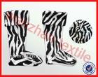 100 polyester printed polar fleece socks