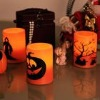CW-HL005B-2 Halloween Candle