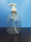 500ml PET bottle with 28/400 lotion pump(MC-G1)