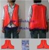 Promotional PVC Fluorescent Safety Vest