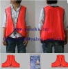 Promotional PVC Fluorescent Safety Vest