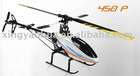 Hausler 6CH 3D 450 Carbon Fiber RC Helicopters and Bonus CNC Main rotor head and tail RC Helicopter