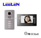Handsfree video home intercom with assembled door panel