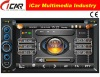 (iCar-6218)HOT Double Din 6.2'' touch screen,GPS,Bluetooth,TV,IPod car dvd player gps