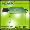 2012 hot selling Laptop desk with cooling pad and mouse pad