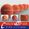 DN125 5'' Concrete pump clean-out ball,sponge rubber ball