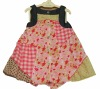 Latest baby girls dresses flower pattern 2012