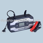 12V LCD car battery charger