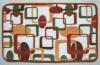 printed Microfiber bath mat