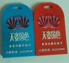 customed soft pvc luggage tag