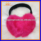 Fake fur protect earmuff