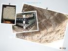 shaggy polyester nylon mat
