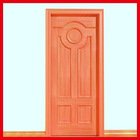 Solid wood door design