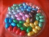 Colorful easter chocolate egg