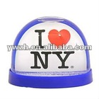I Love NYC Snow Globes Acrylic