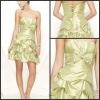 K1005 2012 Hot Sale! Sweetheart Taffeta Pleated Bow Short Cocktail Dress