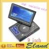 "9"" DVD portable player"