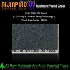 UV melamine wood grain mdf panel