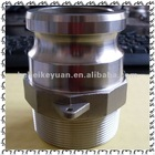 "1/2""-6"" stainless steel quick couplings"