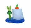 Plastic lovely rabbit design tissue holder