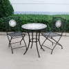 fire pit table bistro set