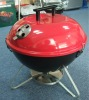 Enameled portable charcoal european bbq grill (FEA314ER)