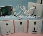 Universal USB wall socket IEC standand ,USA standard