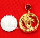 gold dragon pendants
