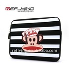Bag case for iPad 2 with fashion printing monkey photo