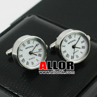 Hot selling clock cufflink